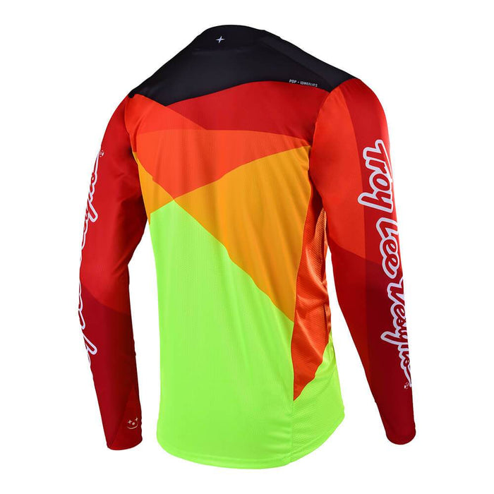 SPRINT JERSEY JET YELLOW / ORANGE
