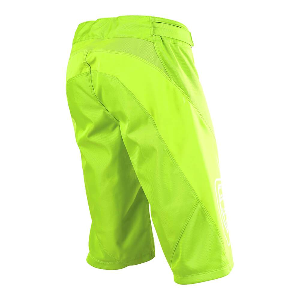 YOUTH SPRINT SHORT SOLID FLO YELLOW