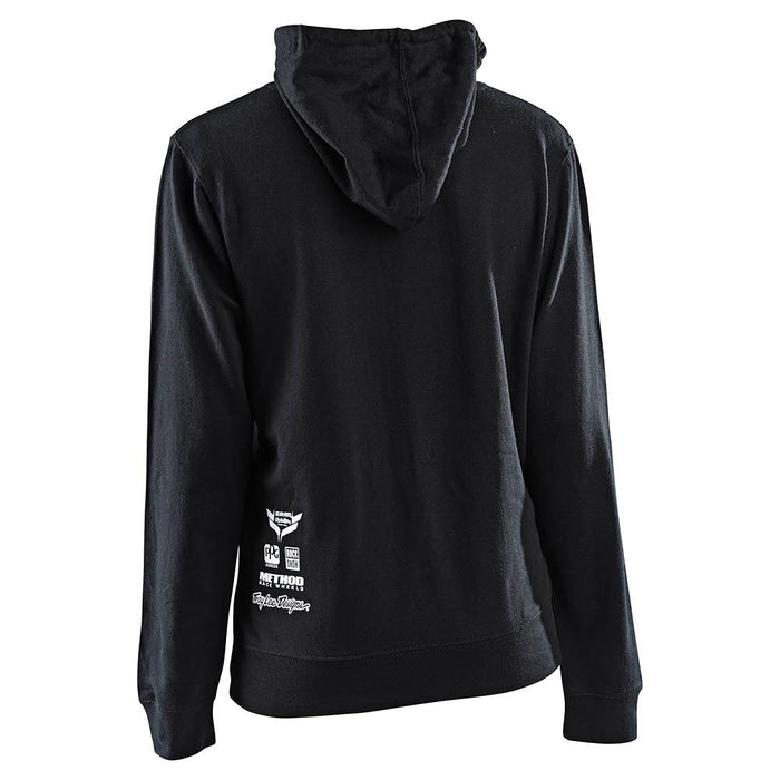 WOMENS PULLOVER SRAM RACING BLOCK BLACK