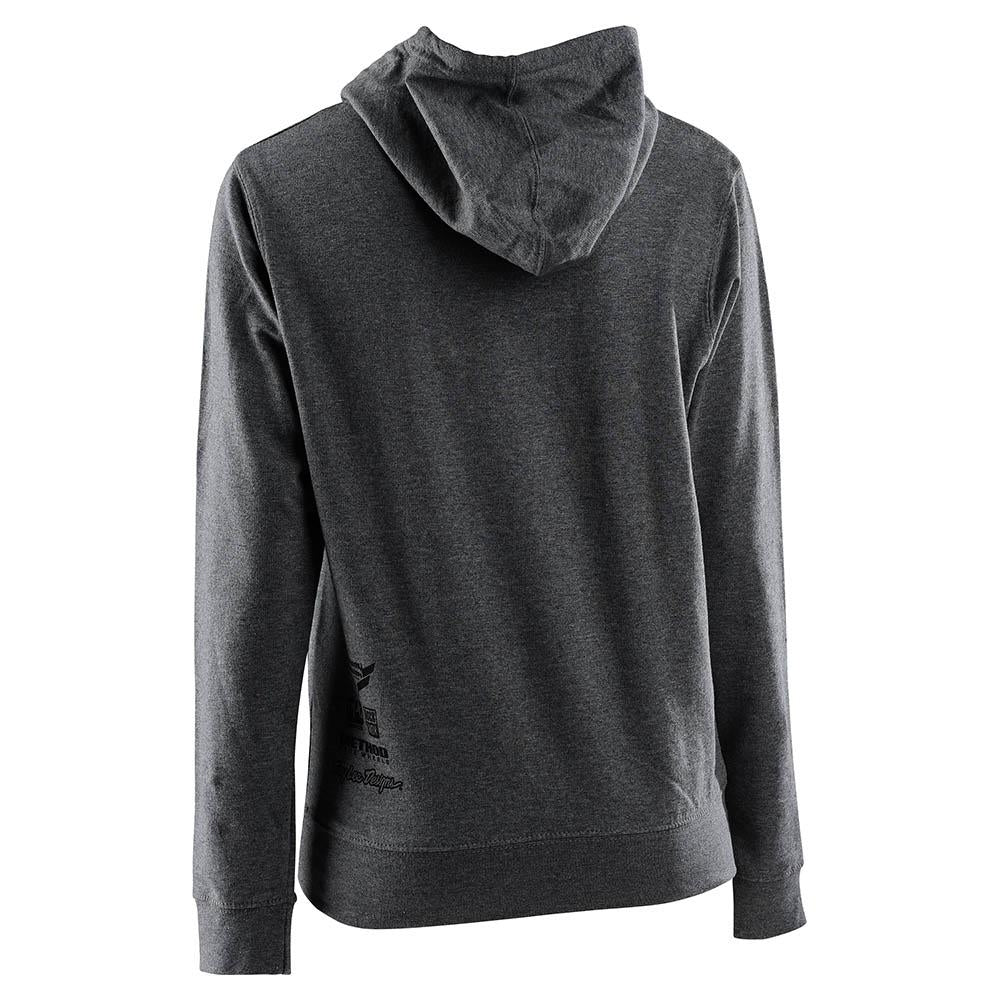 WOMENS PULLOVER SRAM RACING BLOCK GUNMETAL HEATHER