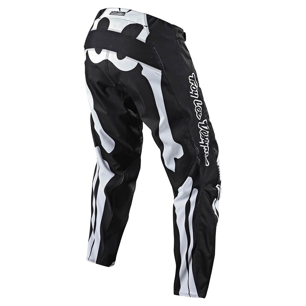 GP PANT SKULLY BLACK / WHITE