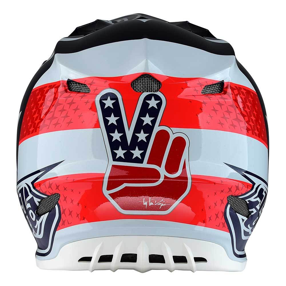 YOUTH SE4 POLYACRYLITE HELMET W/MIPS FREEDOM RED / WHITE