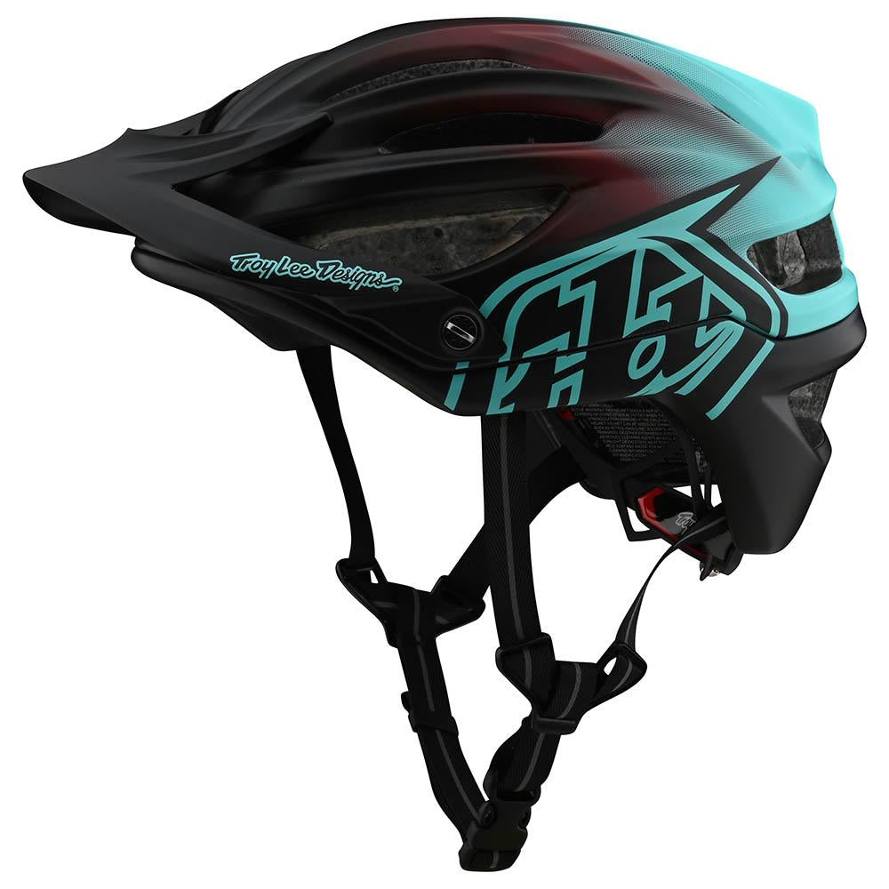A2 HELMETS W/MIPS STAIN'D BLACK / TURQUOISE