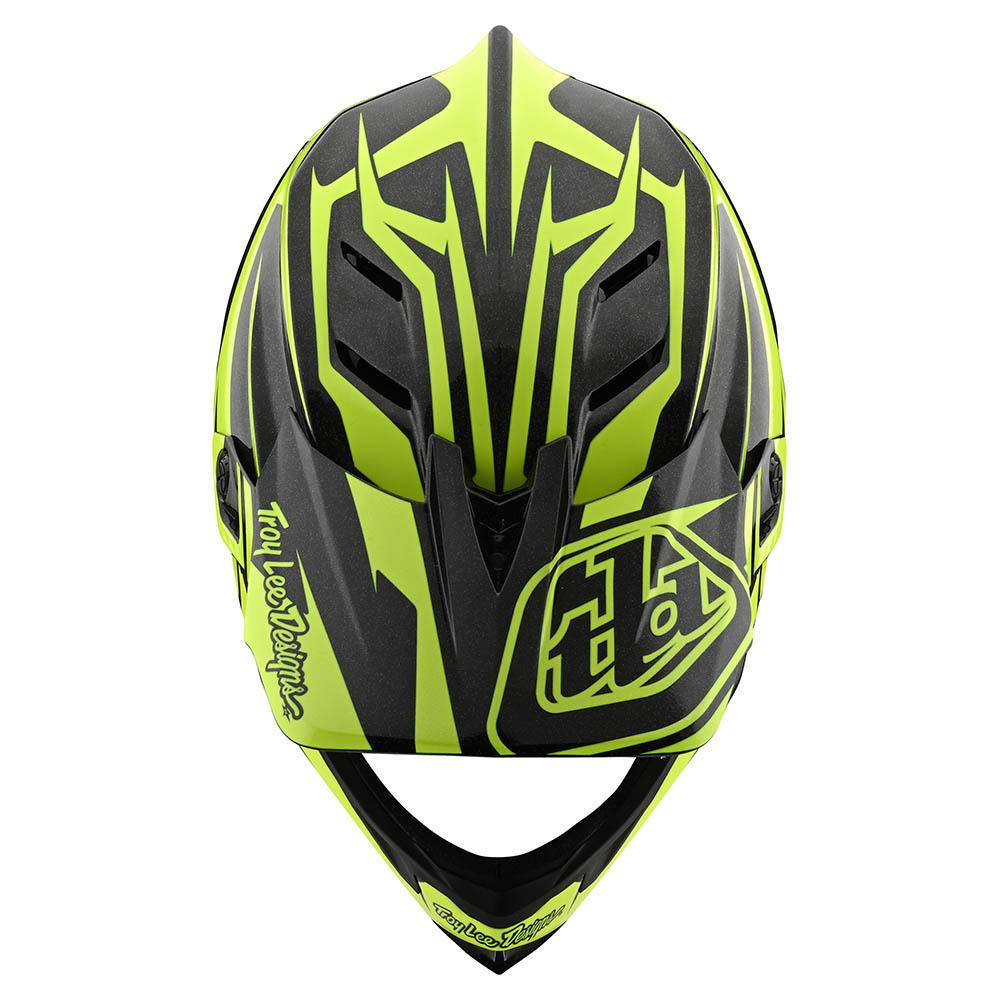 D4 CARBON HELMET W/MIPS SLASH BLACK / YELLOW