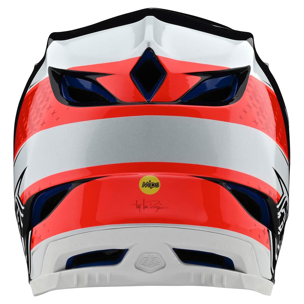 D4 COMPOSITE HELMET W/MIPS FREEDOM 2.0 RED / WHITE