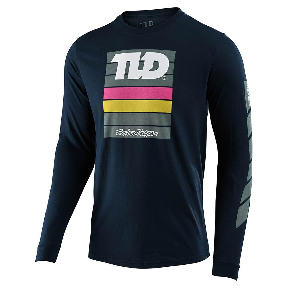 LONG SLEEVE TEE PREGAME NAVY