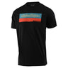 SHORT SLEEVE TEE RACING BLOCK BLACK