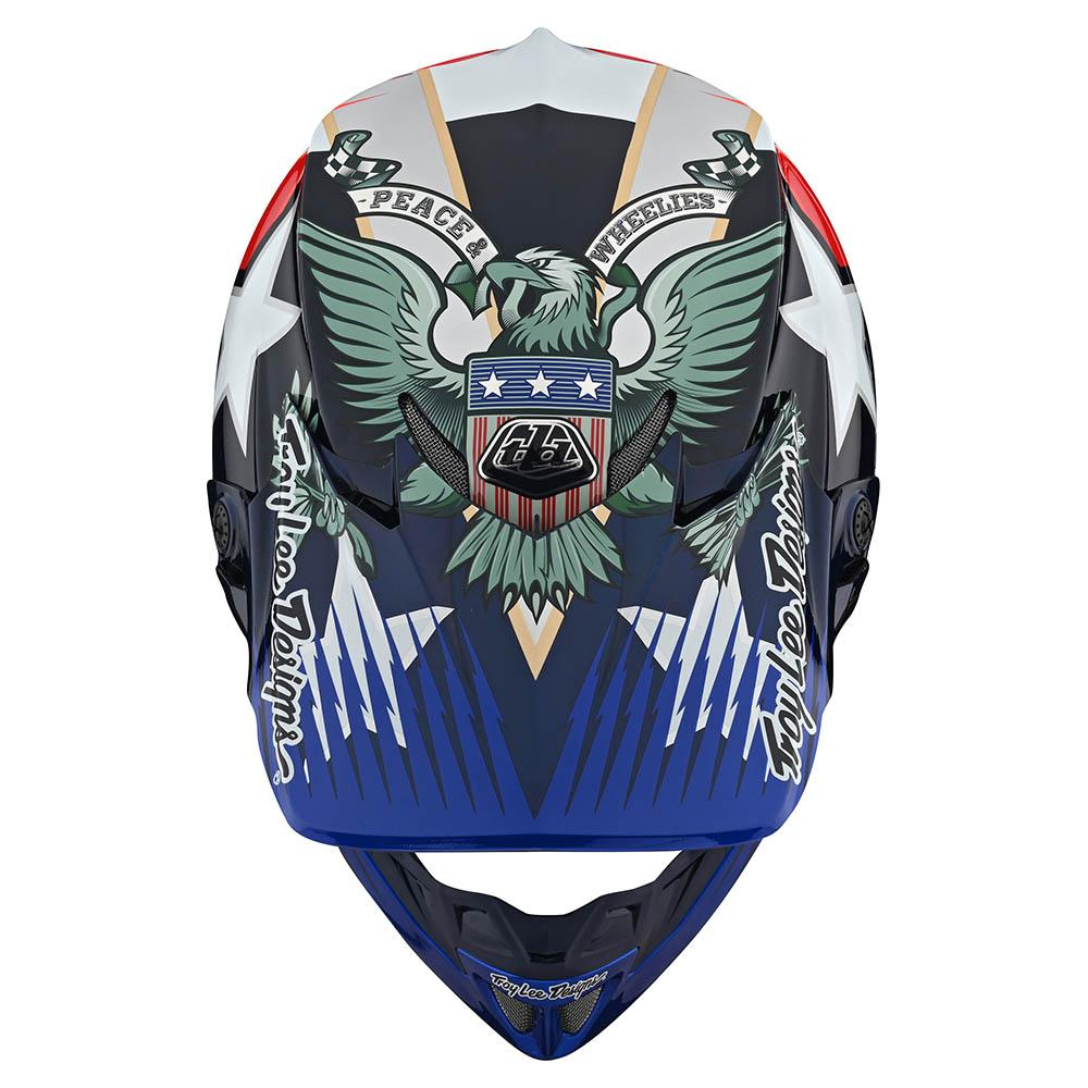 SE4 ECE CARBON HELMET W/MIPS LIBERTY RED / WHITE / BLUE