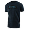 SHORT SLEEVE TEE SIGNATURE BLOCK CAMO MIDNIGHT BLUE