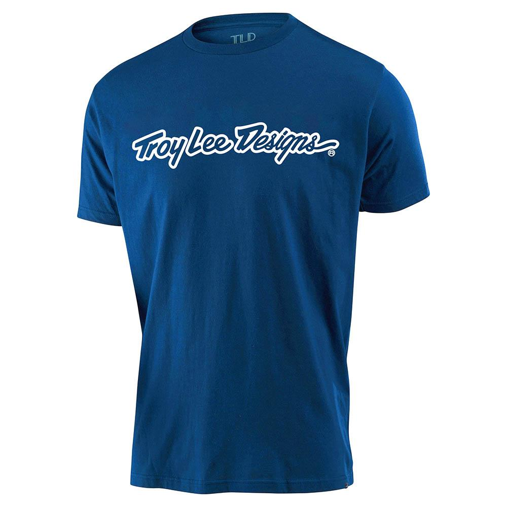 YOUTH SHORT SLEEVE TEE SIGNATURE ROYAL BLUE