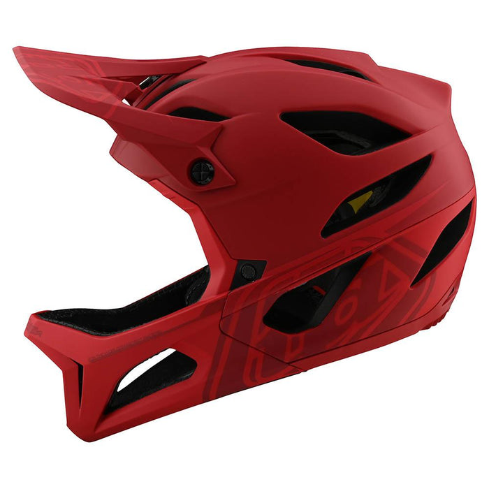 STAGE HELMET W/MIPS STEALTH RED
