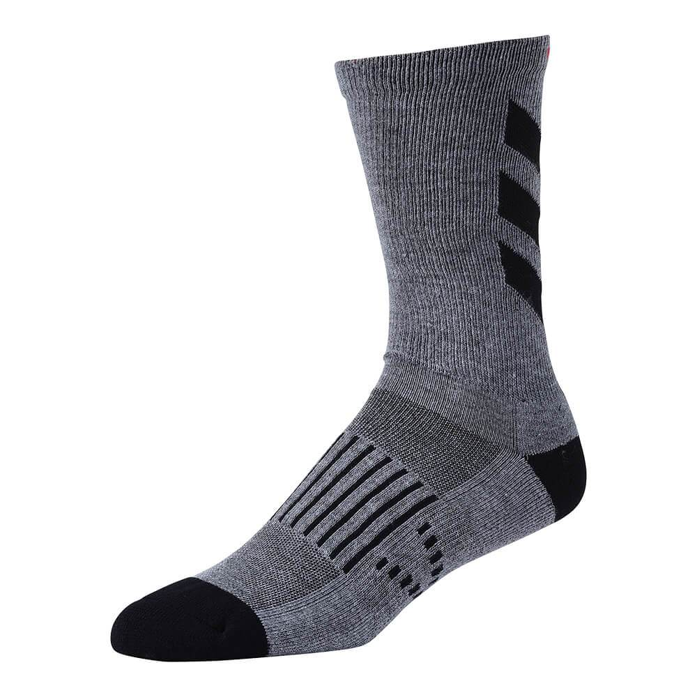 CREW SOCK ESCAPE GRAY / BLACK