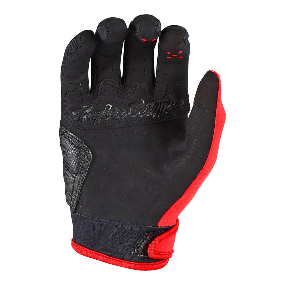 RUCKUS GLOVE SOLID RED