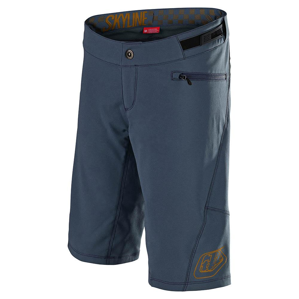 WOMENS SKYLINE SHORT SHELL SOLID SLATE / BOURBON