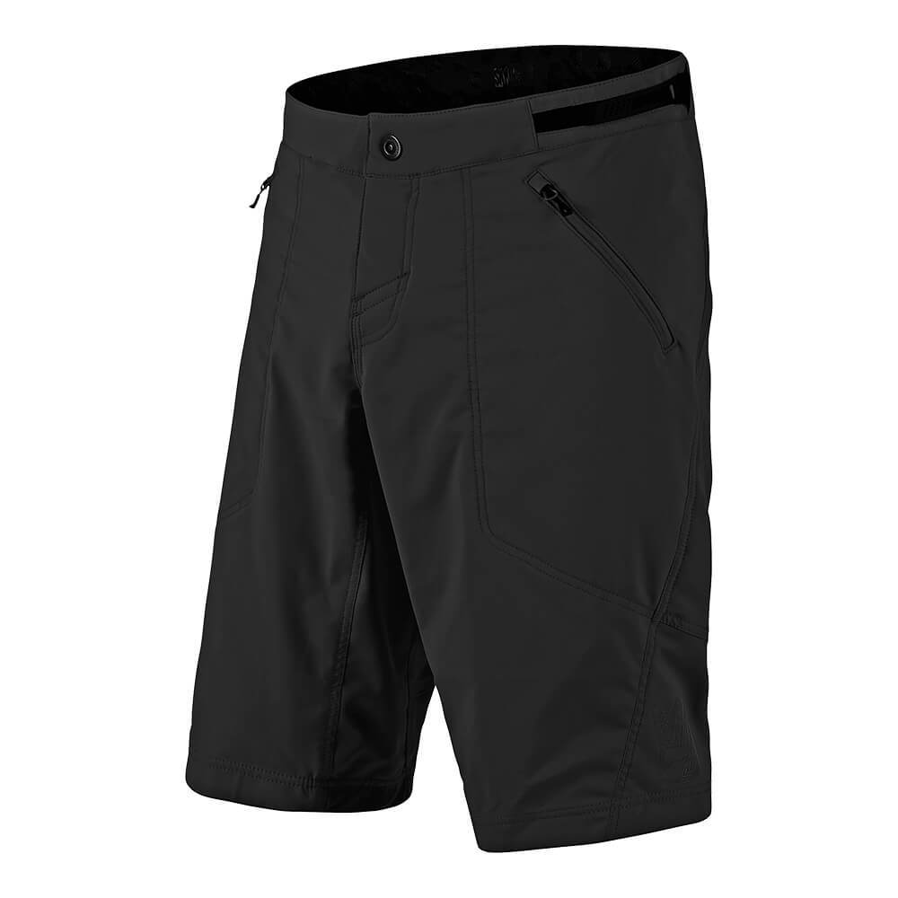 YOUTH SKYLINE SHORT SHELL SOLID BLACK