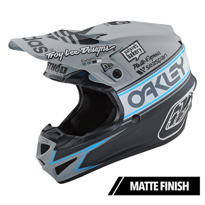 SE4 POLYACRYLITE HELMET W/MIPS TEAM EDITION 2 GRAY