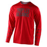 GP JERSEY PINSTRIPE RED / GRAY