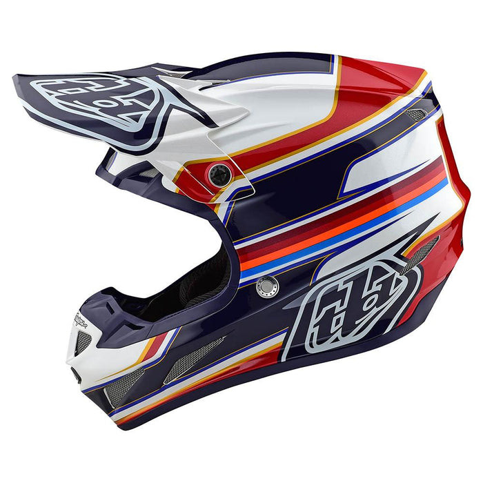 SE4 COMPOSITE HELMET W/MIPS SPEED WHITE / RED