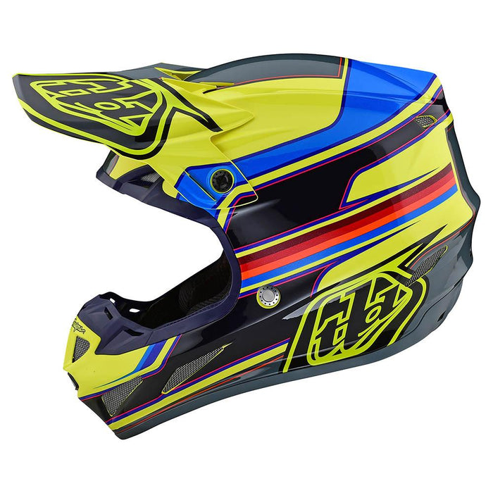 SE4 COMPOSITE HELMET W/MIPS SPEED YELLOW / GRAY