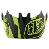 D4 VISOR SLASH BLACK / YELLOW