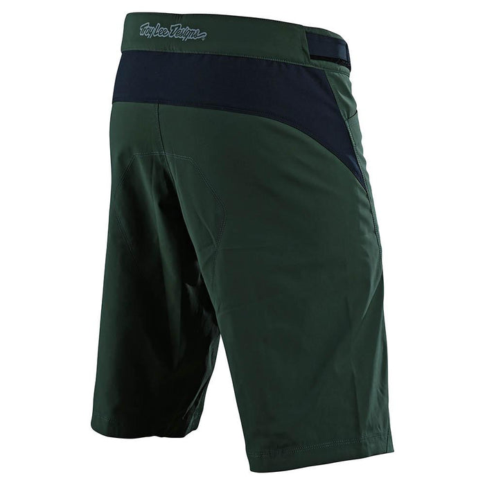 FLOWLINE SHORT W/LINER SOLID GREEN