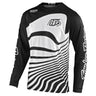 GP AIR JERSEY DRIFT BLACK / WHITE