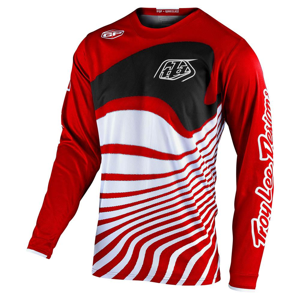 GP JERSEY DRIFT RED / BLACK