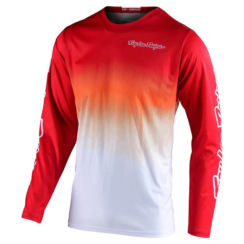 GP JERSEY STAIN'D RED / WHITE
