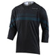 RUCKUS 3/4 JERSEY FACTORY BLACK / GRAY