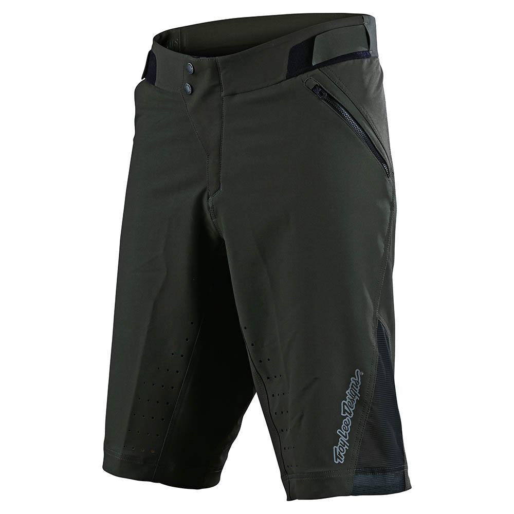 RUCKUS SHORTS W/LINER SOLID GREEN