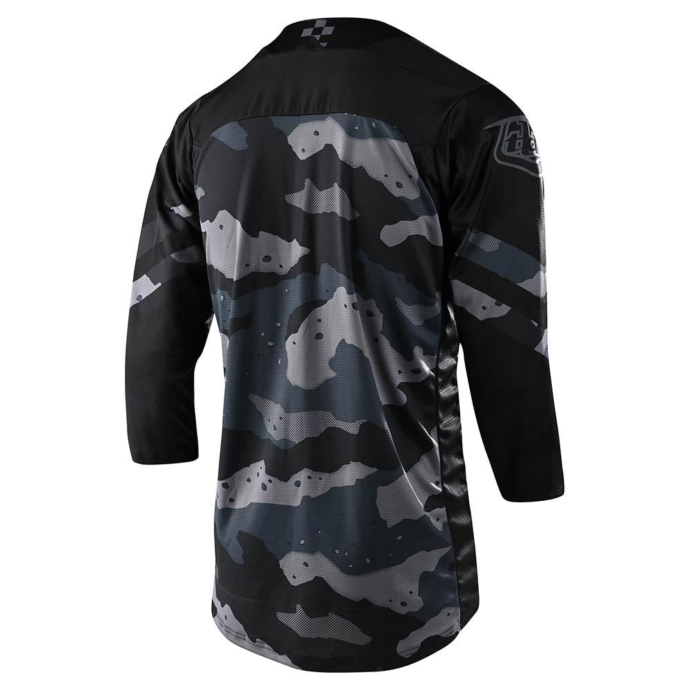 RUCKUS 3/4 JERSEY FACTORY CAMO GRAY / BLACK