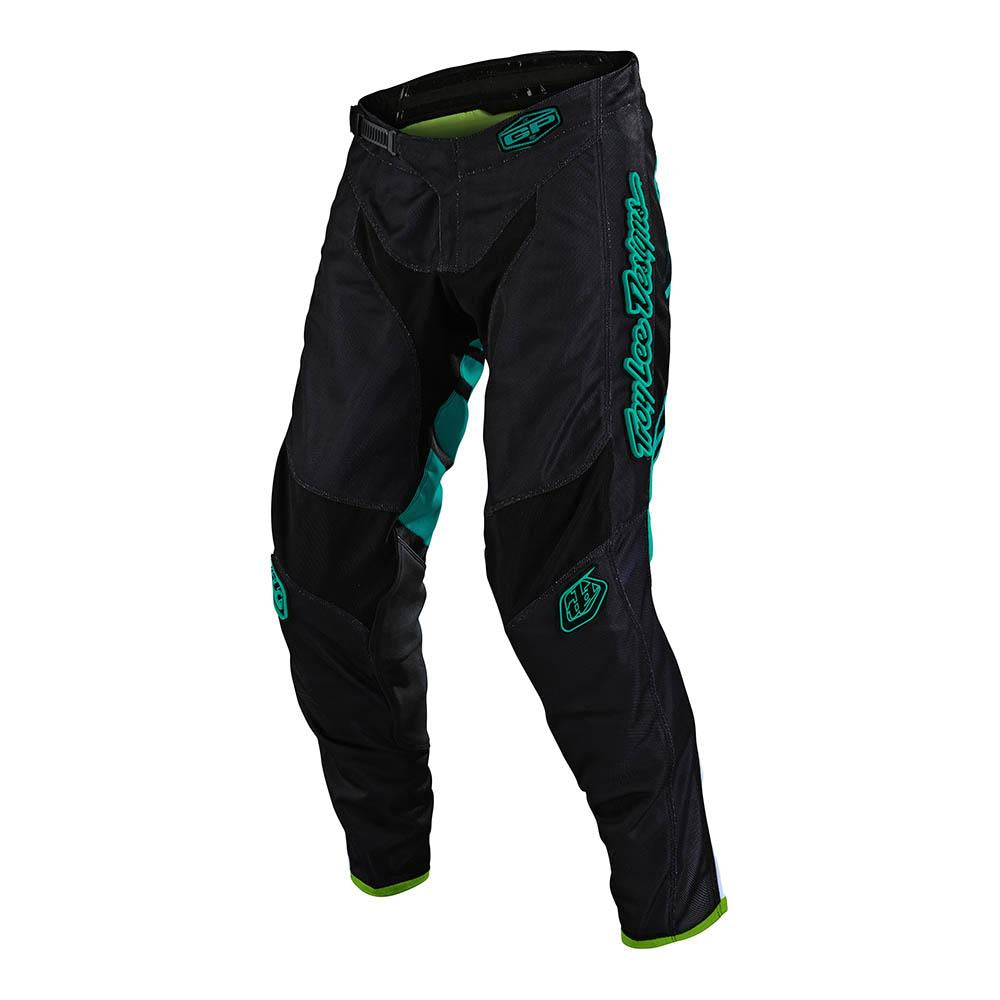 YOUTH GP PANT DRIFT BLACK / TURQUOISE