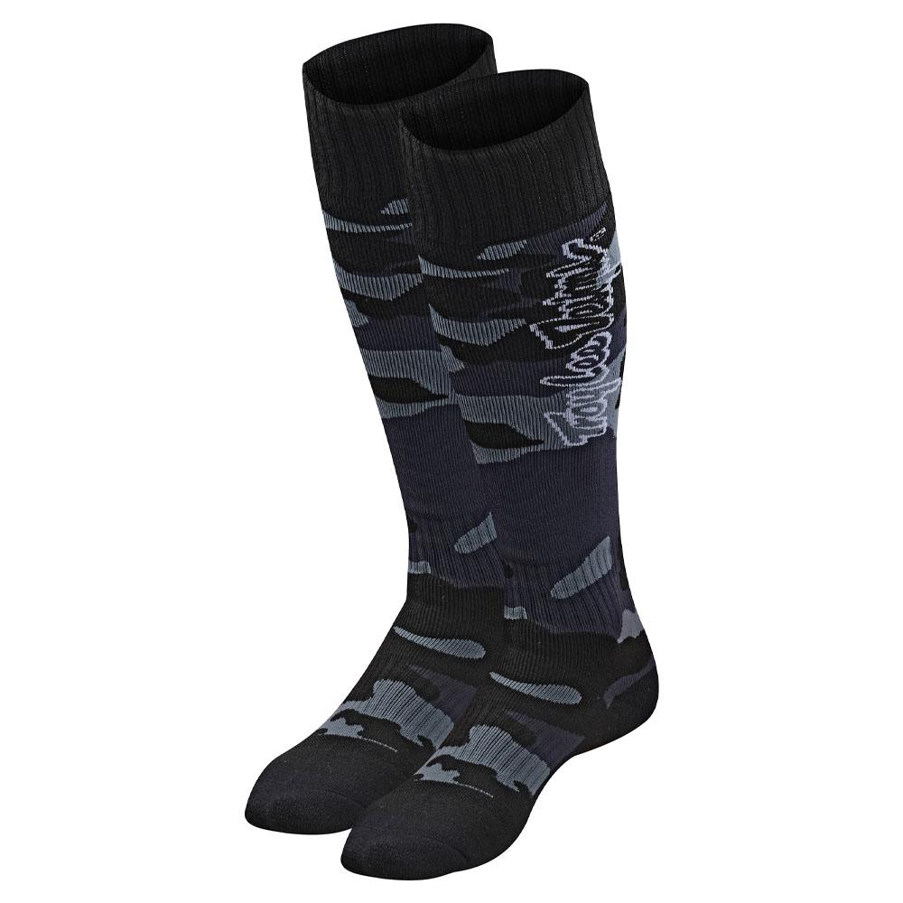GP MX COOLMAX THICK SOCK CAMO BLACK