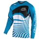 YOUTH GP JERSEY DRIFT OCEAN / WHITE