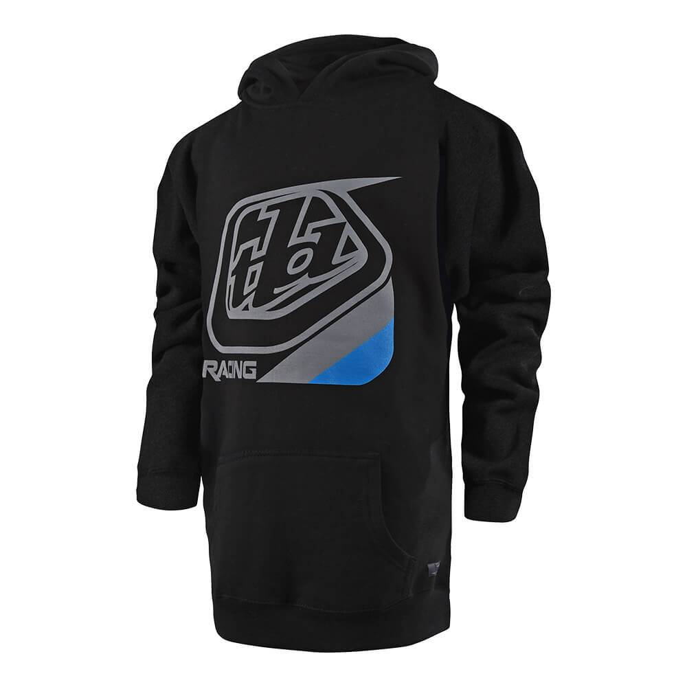 YOUTH PULLOVER PRECISION BLACK / BLUE