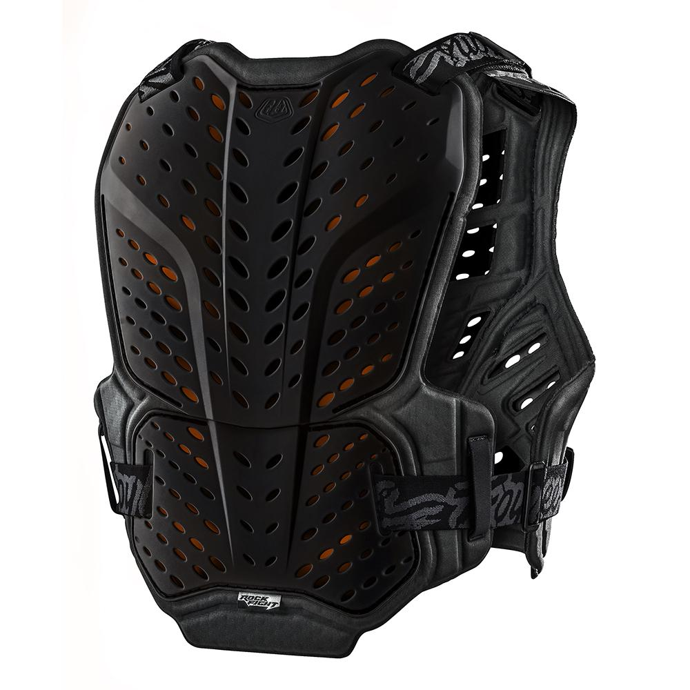 ROCKFIGHT CE CHEST PROTECTOR SOLID BLACK
