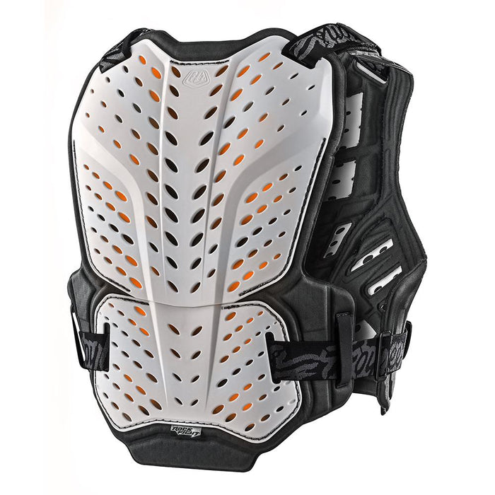 ROCKFIGHT CE CHEST PROTECTOR SOLID WHITE