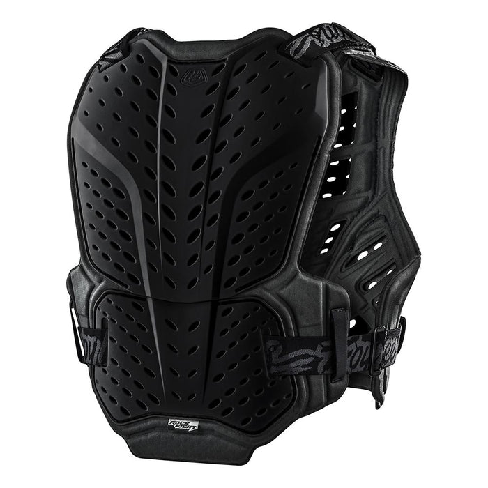 ROCKFIGHT CHEST PROTECTOR SOLID BLACK