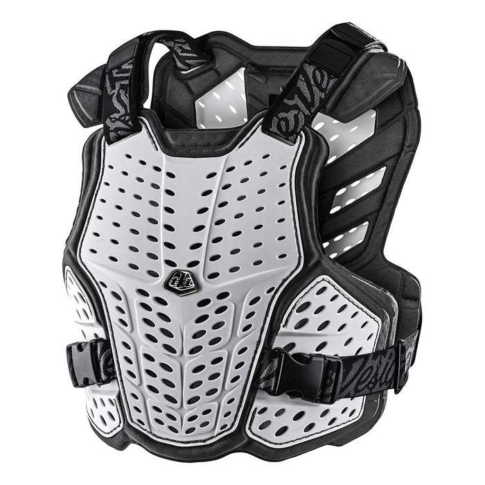 ROCKFIGHT CHEST PROTECTOR SOLID WHITE