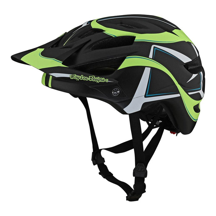 YOUTH A1 HELMET W/MIPS WELTER BLACK / GREEN