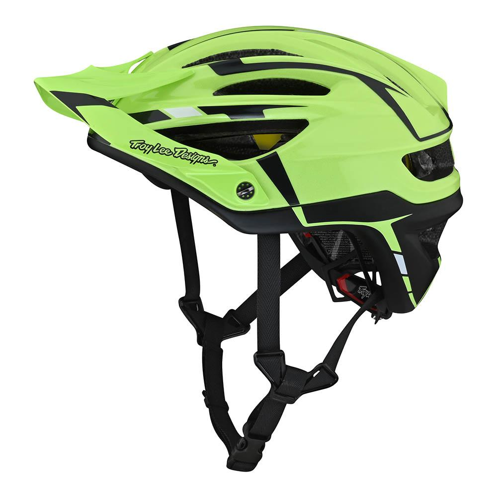A2 HELMET W/MIPS SLIVER GREEN / GRAY