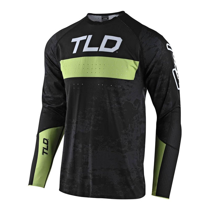 SPRINT ULTRA JERSEY GRIME BLACK / GLO GREEN