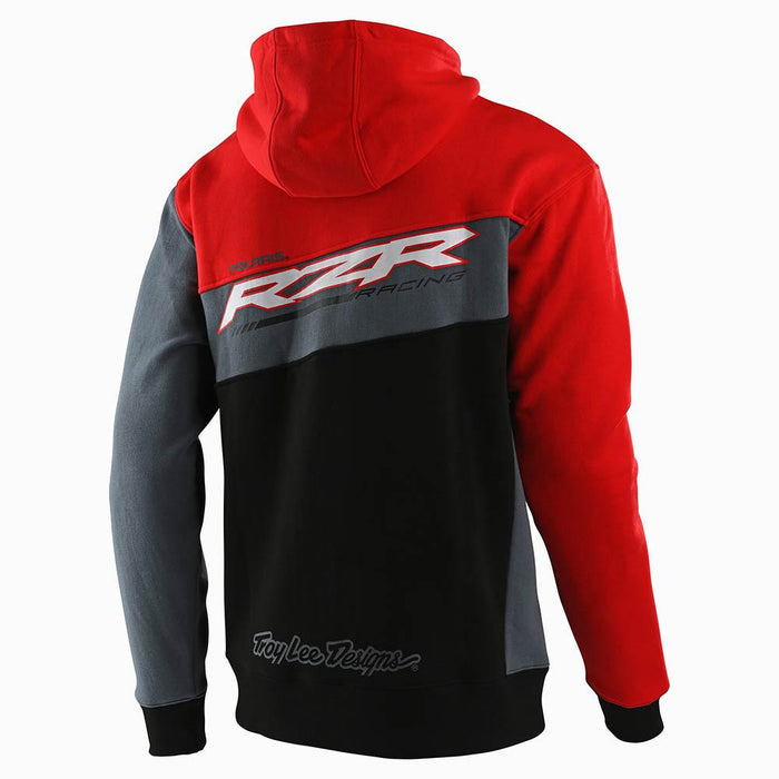 ZIP UP HOODIE TLD POLARIS RZR BLACK / RED