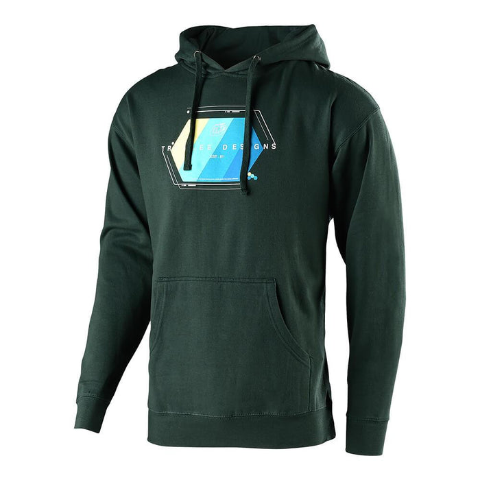 PULLOVER TECHNICAL FADE ALPINE GREEN
