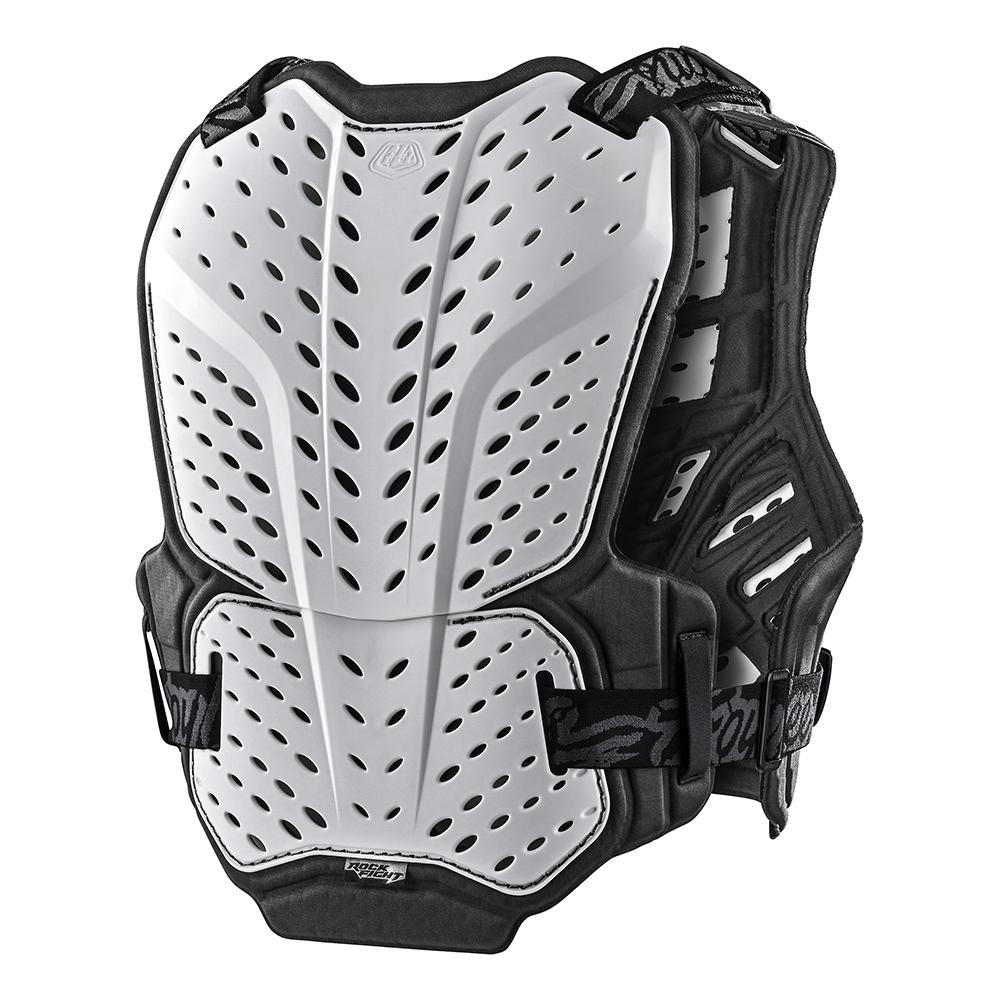 YOUTH ROCKFIGHT CHEST PROTECTOR SOLID WHITE