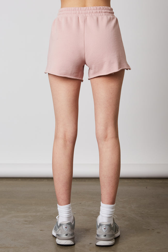 Notched Boyfriend Short