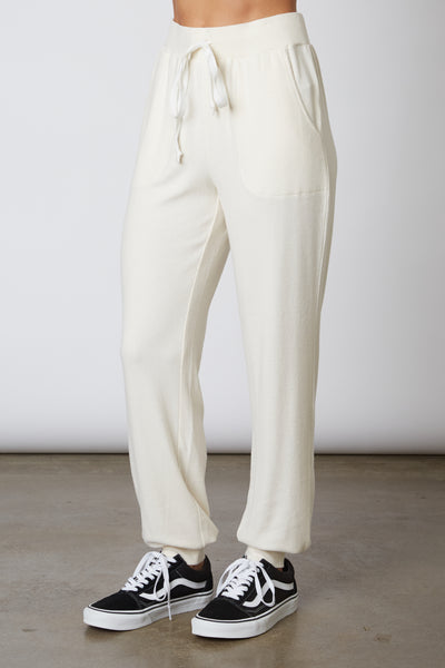 Ribbed Hacci Lounge Pant
