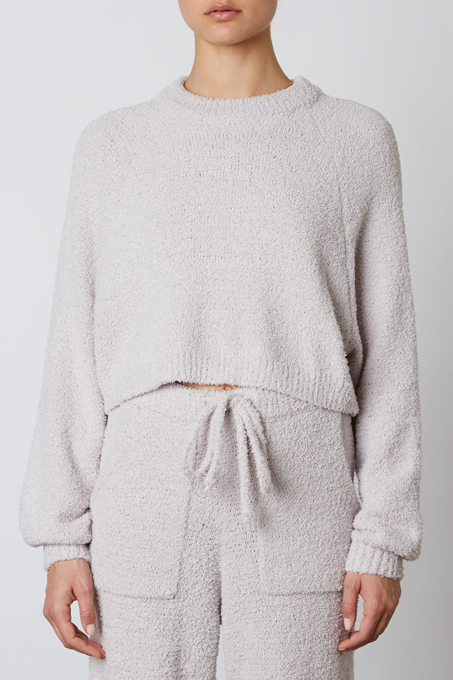 Cropped Raglan Sweater