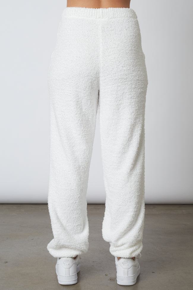 Plush Sweater Jogger
