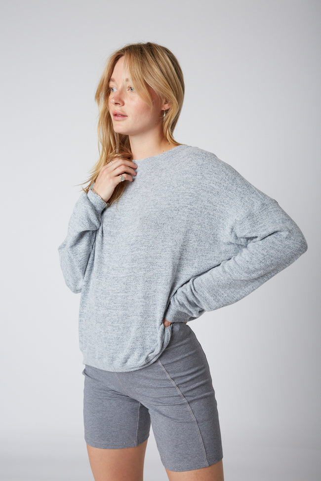 Oversized Hacci Pullover